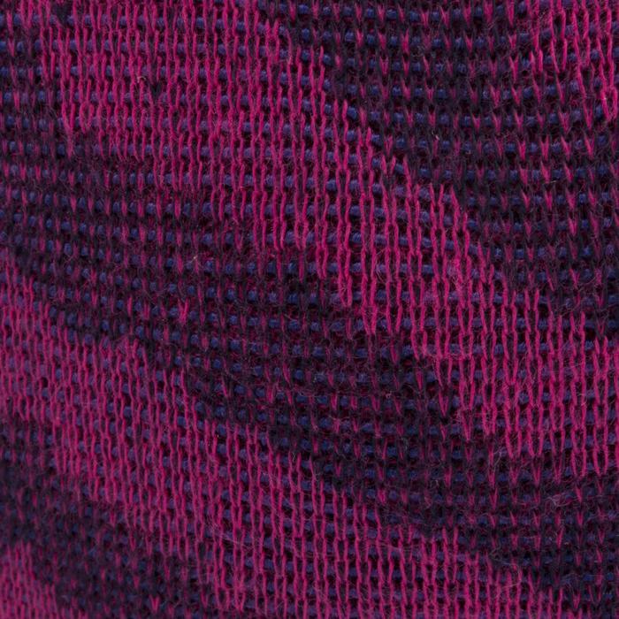 Rodilleras de voleibol V500 azul negro y rosa