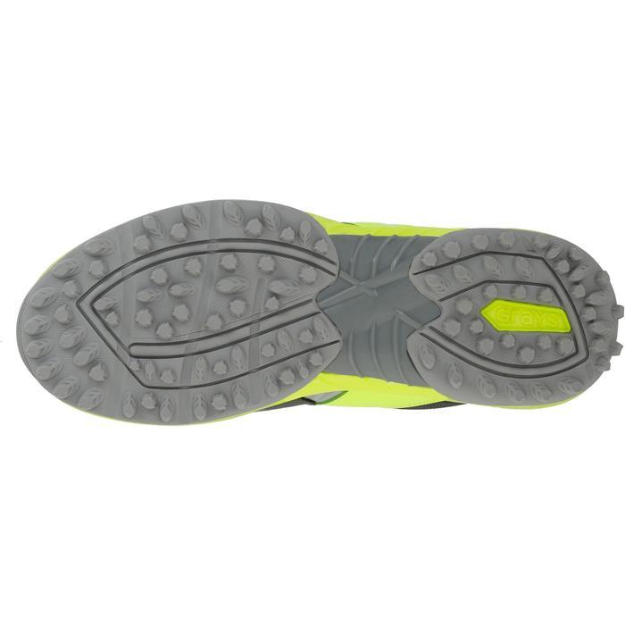Chaussures homme Flash Junior grises et vertes - 1187423