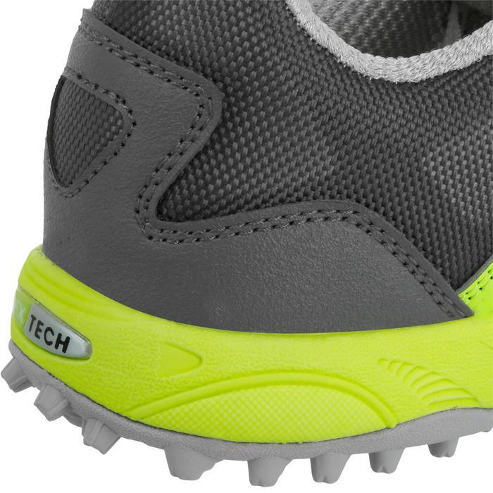Chaussures homme Flash Junior grises et vertes - 1187424