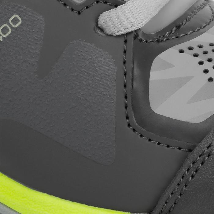 Chaussures homme Flash Junior grises et vertes - 1187425