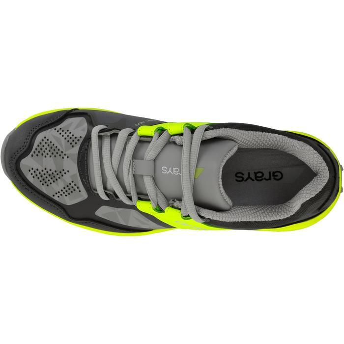 Chaussures homme Flash Junior grises et vertes - 1187428