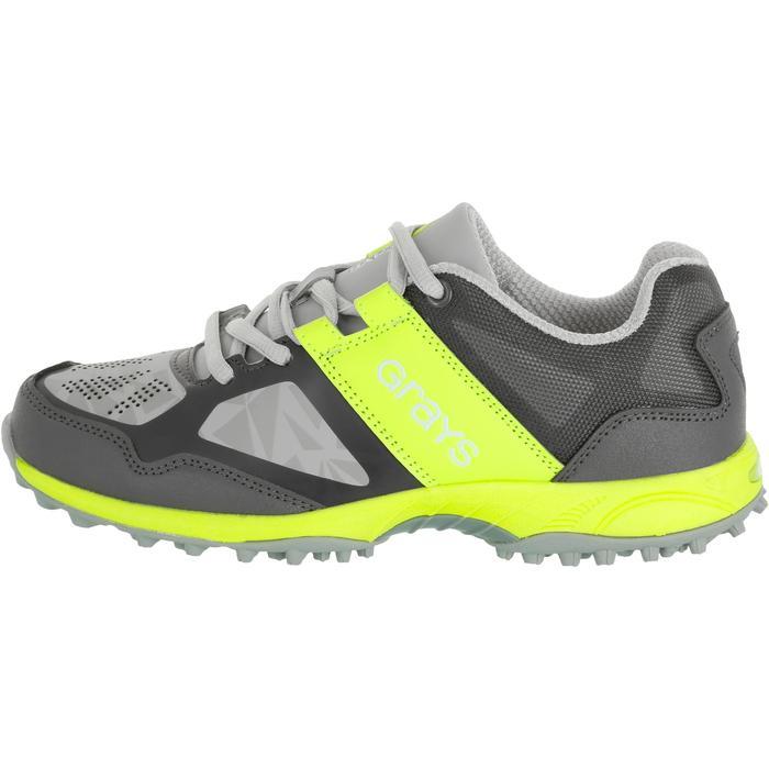 Chaussures homme Flash Junior grises et vertes - 1187429