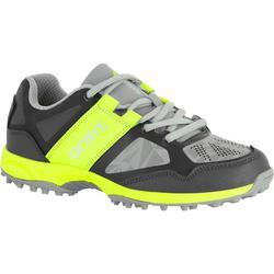 Chaussures homme Flash Junior grises et vertes