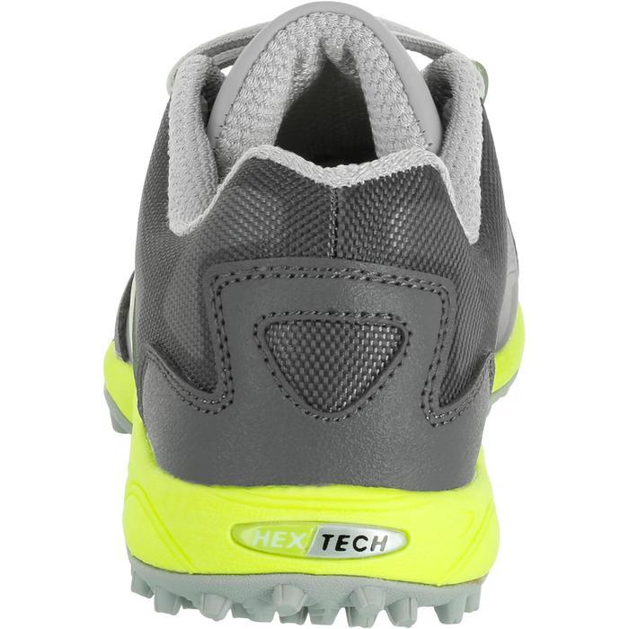 Chaussures homme Flash Junior grises et vertes - 1187431