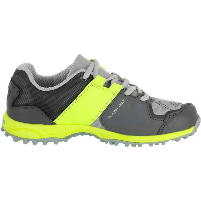 Chaussures homme Flash Junior grises et vertes - 1187432