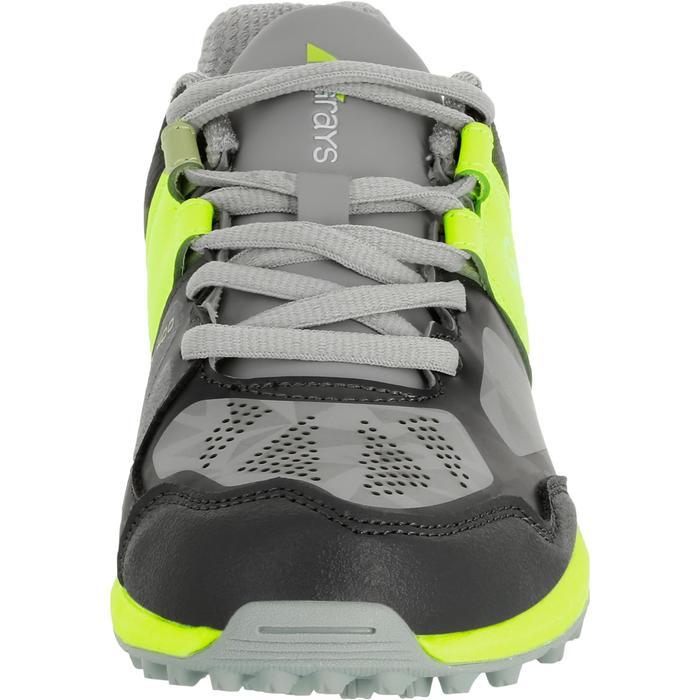 Chaussures homme Flash Junior grises et vertes - 1187433