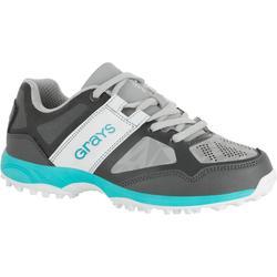 Chaussures homme Flash junior grises et aqua