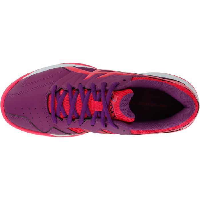 Chaussures femme GEL-LETHAL MP 7 prunes et rouges - 1187458