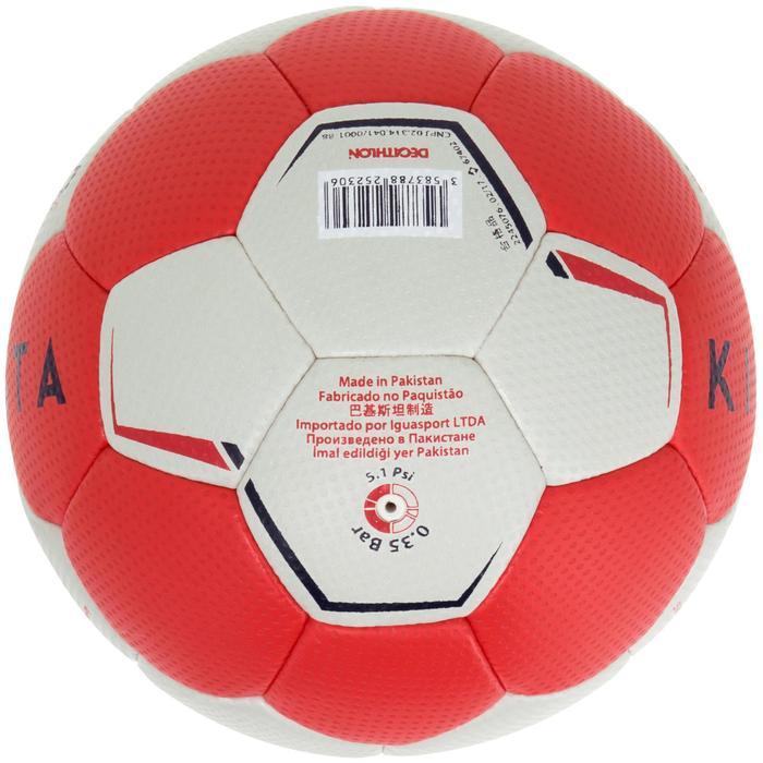 Ballon de handball hybride H500 Taille 2 rouge et - 1187466