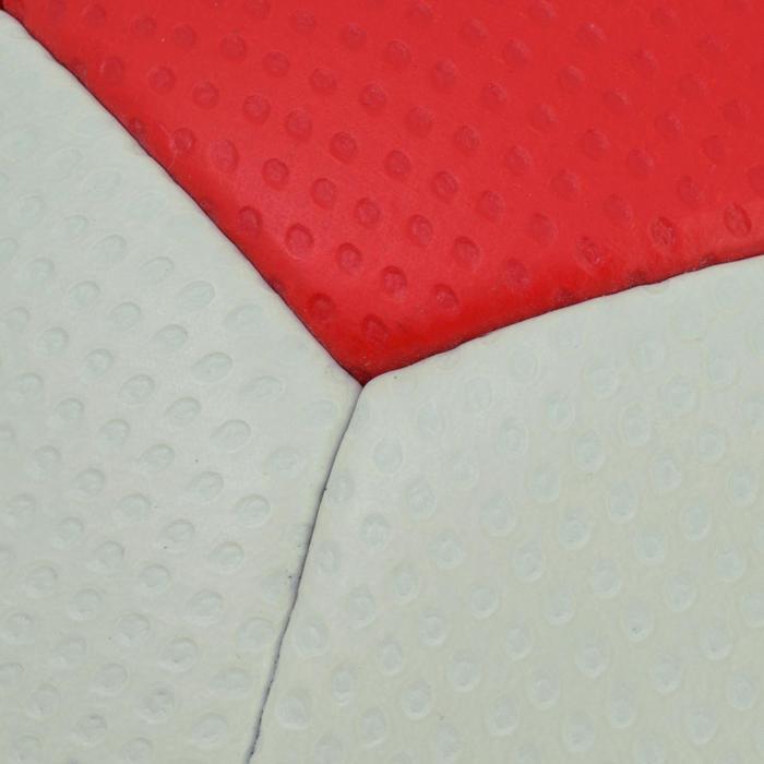 Ballon de handball hybride H500 Taille 2 rouge et - 1187472