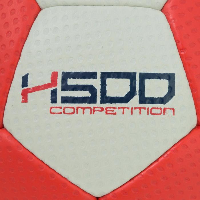 Ballon de handball hybride H500 Taille 2 rouge et - 1187475