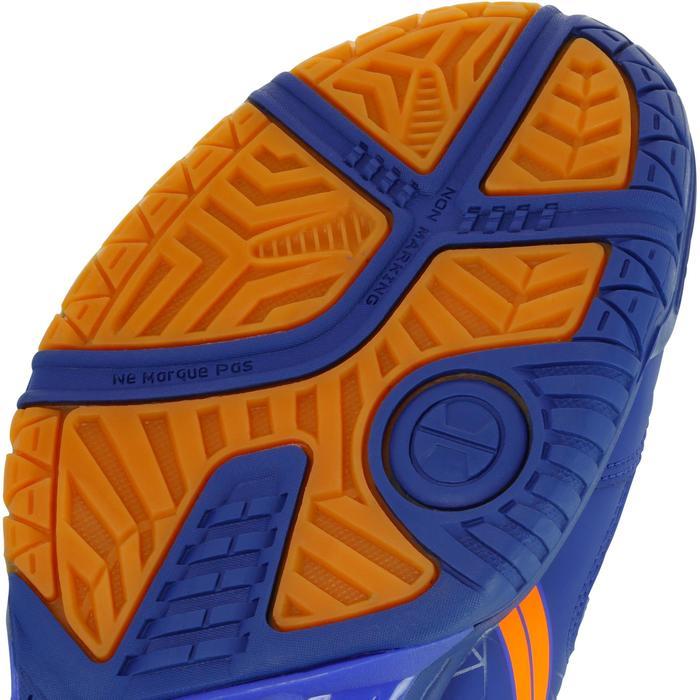 Chaussures de handball adulte Asics Gel Squad bleu et orange 2017/2018
