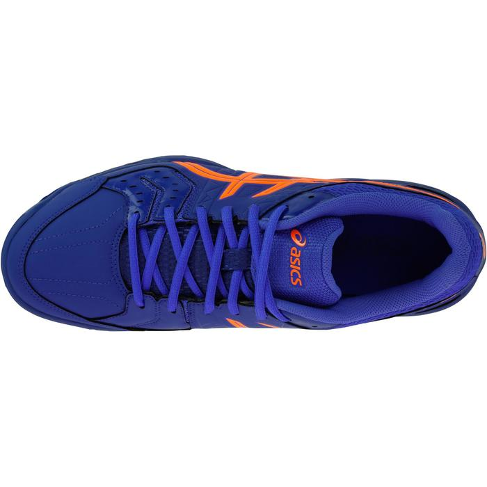 Chaussures de handball adulte Asics Gel Squad bleu et orange 2017/2018 - 1187522