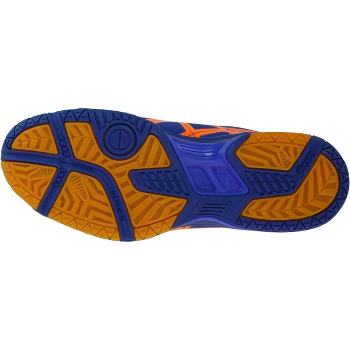Handbalschoenen Asics Gel Squad voor volwassenen blauw en oranje 2017/2018