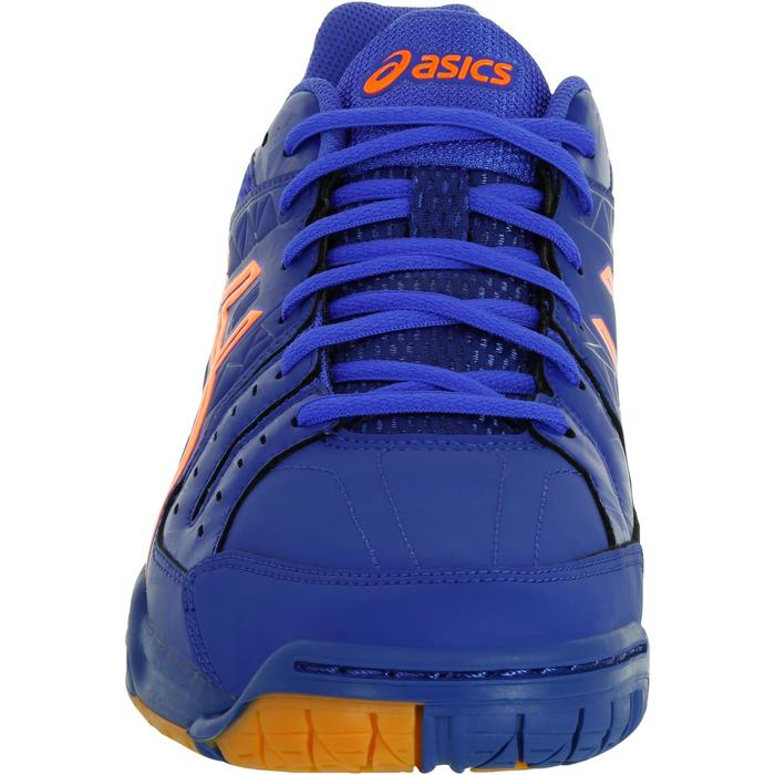 Chaussures de handball adulte Asics Gel Squad bleu et orange 2017/2018 - 1187530