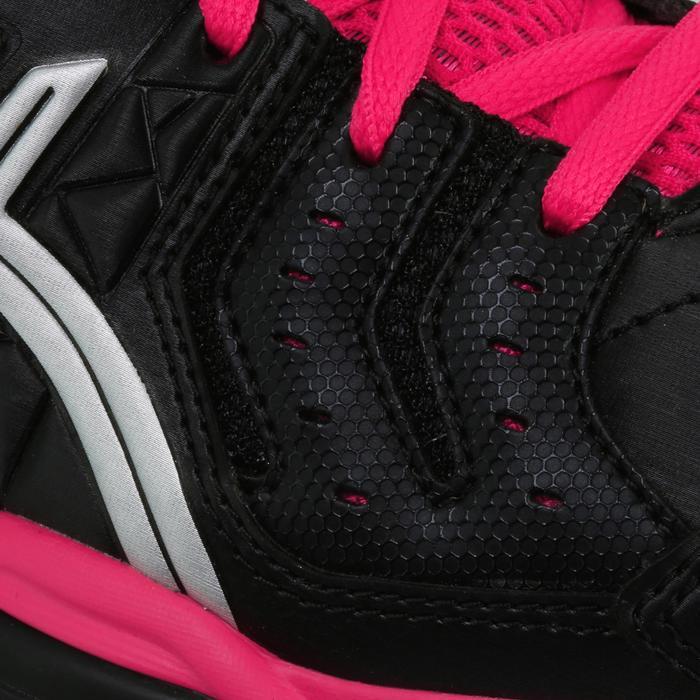 Zapatillas de balonmano para adulto Asics Gel Squad negro y rosa 2017/2018