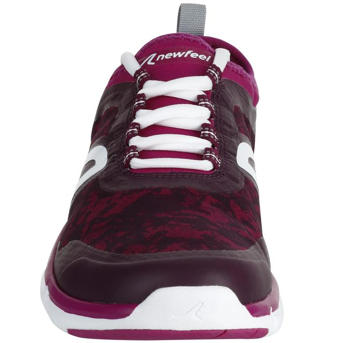 Chaussures marche sportive femme PW 580 Waterproof violet / rose