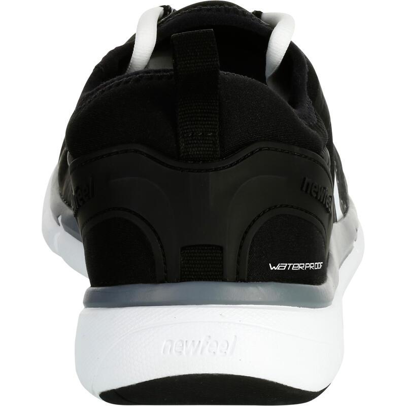 Waterproof Walking Shoes for Men PW 580 - Black