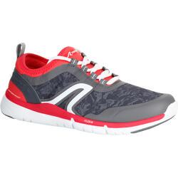 Zapatillas de marcha deportiva para mujer PW 580 RespiDry gris / rosa