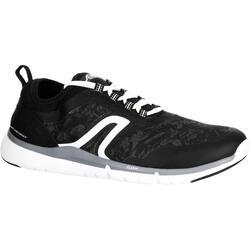 Herensneakers voor sportief wandelen PW 580 Plasma WaterResist zwart