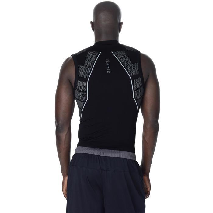 透氣籃球無袖底層衣UT500-黑色