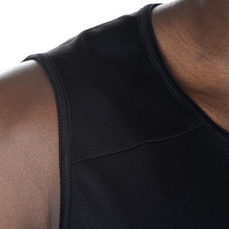 Playera Básquetbol Tarmak T100 hombre negro