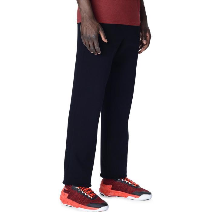 Basketbalbroek P100 voor beginnende heren zwart