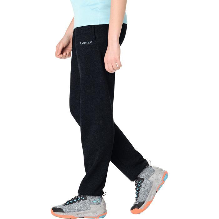 Pantalón Chándal Baloncesto Tarmak P100 Mujer Gris Oscuro