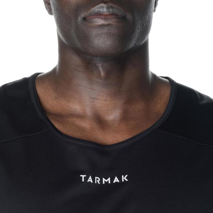 Basketballtrikot T100 Einsteiger Damen/Herren schwarz