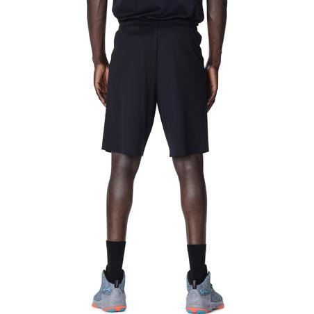 Short de basketball SH100 noir - Homme