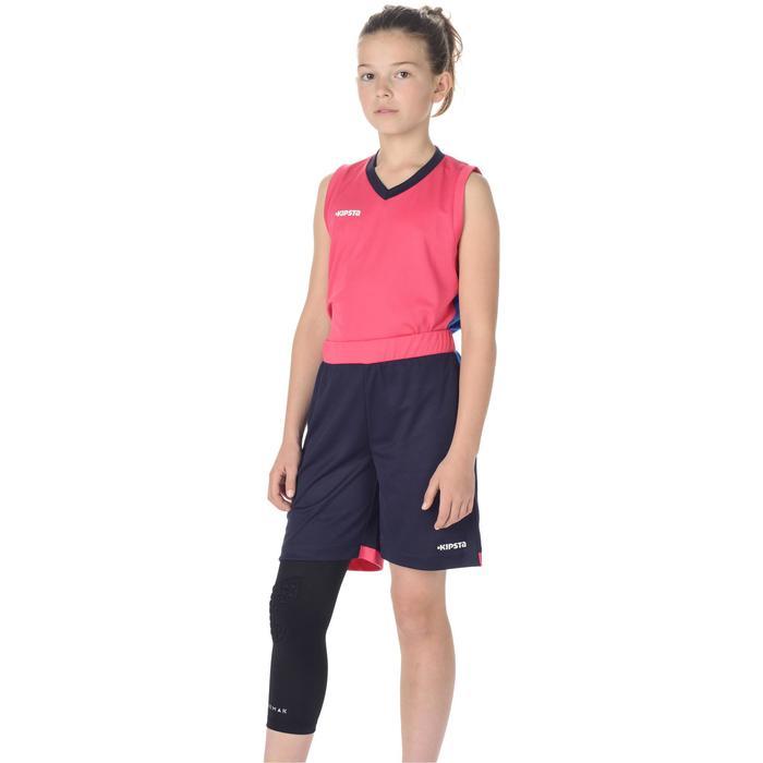 Knieschoner Protect Basketball Kinder schwarz