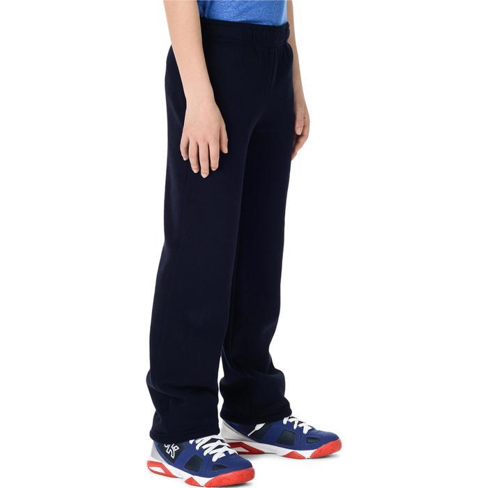 Pantalón Chándal Baloncesto Tarmak P100 Niños Largo Azul Marino