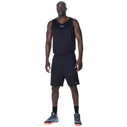 Short de basketball SH100 noir - Homme