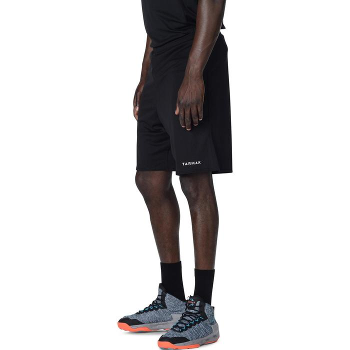 Basketbalshort SH100 zwart (heren)