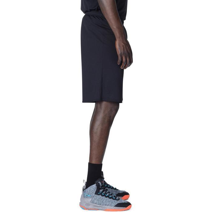 Basketballshorts SH100 Einsteiger Herren schwarz
