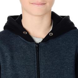 B300 男童/女童初學者/玩家籃球夾克 - 灰色/藍色