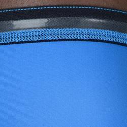 Blauwe armsleeve basketbal voor gevorderde heren/dames