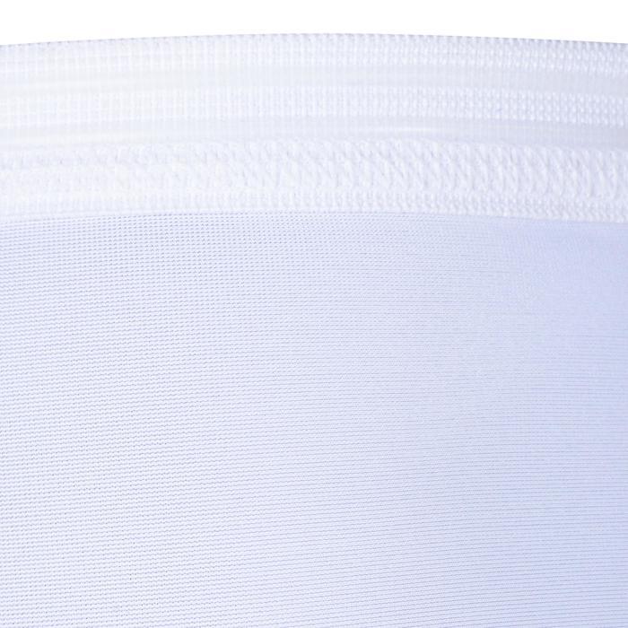 Beschermende basketbal arm sleeve voor volwassenen, gevorderden, wit