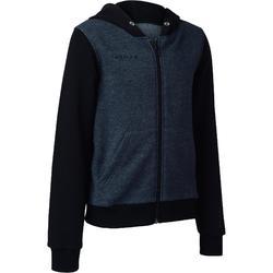 B300 Boys'/Girls' Basketball Jacket For Beginners - Grey/Blue