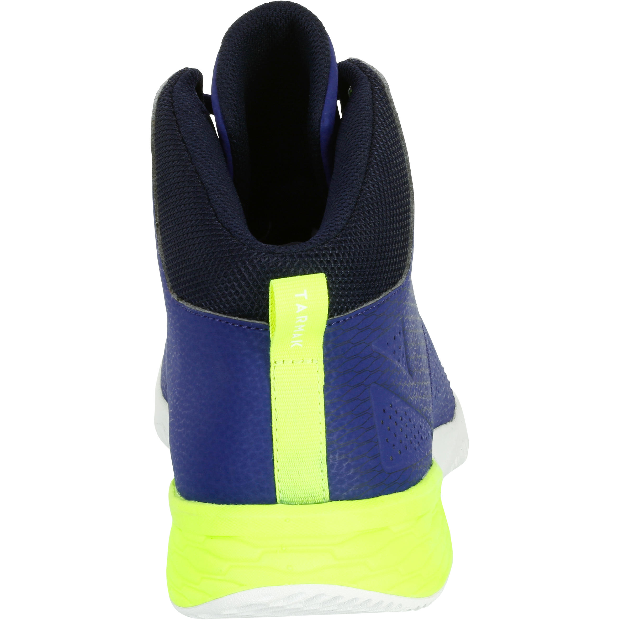 Strong 300 II Beginner Adult Basketball Shoes - Blue/Yellow