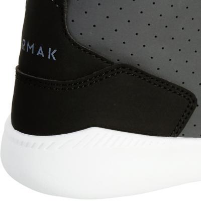 Shield 100 Boys'/Girls' Basketball Shoes For Beginners - Grey