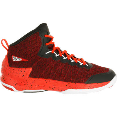 Chaussure de Basketball adulte confirmé/expert Homme/Femme Shield 500 rouge