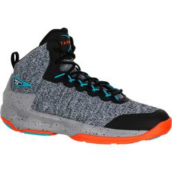 Shield 500 Intermediate Adult Basketball Shoes - Grey/Black