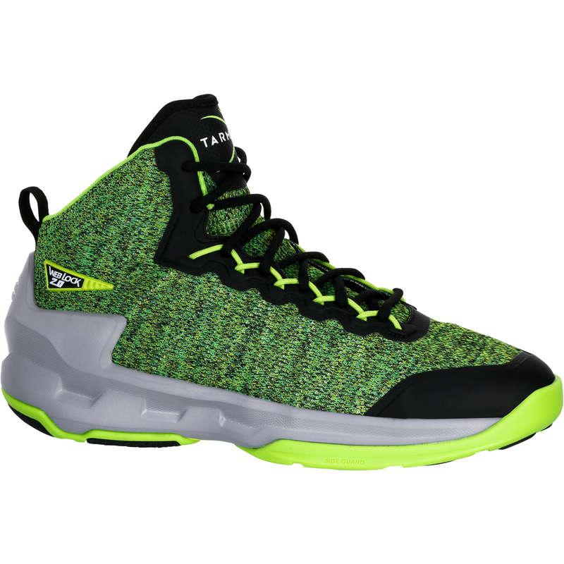 MAN BASKETBALL FOOTWEAR Basketball - Shield 500 Adult - Green TARMAK - Basketball
