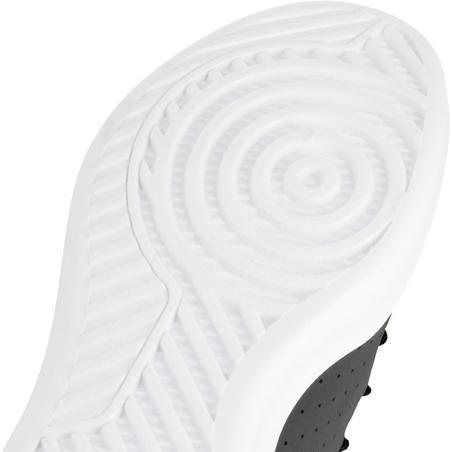 Shield 100 Sepatu Basket Anak Laki-laki/Perempuan untuk Pemula - Abu-abu