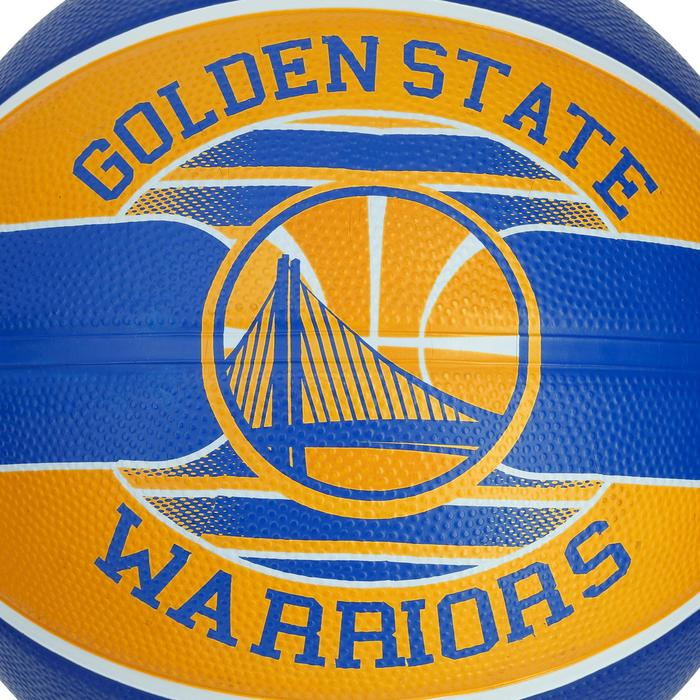 Ballon Basketball Golden State Warriors jaune bleu - 1188090