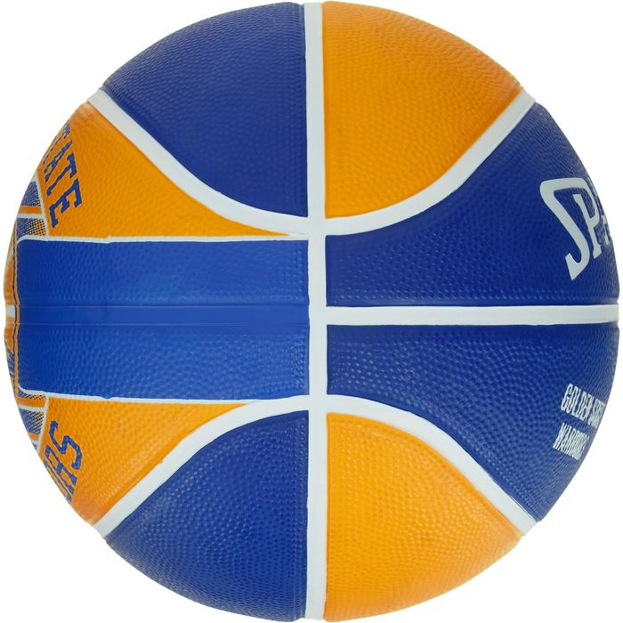 Ballon Basketball Golden State Warriors jaune bleu - 1188091
