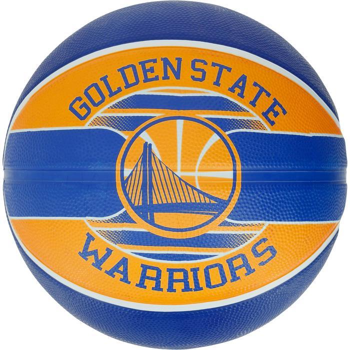 Ballon Basketball Golden State Warriors jaune bleu - 1188092