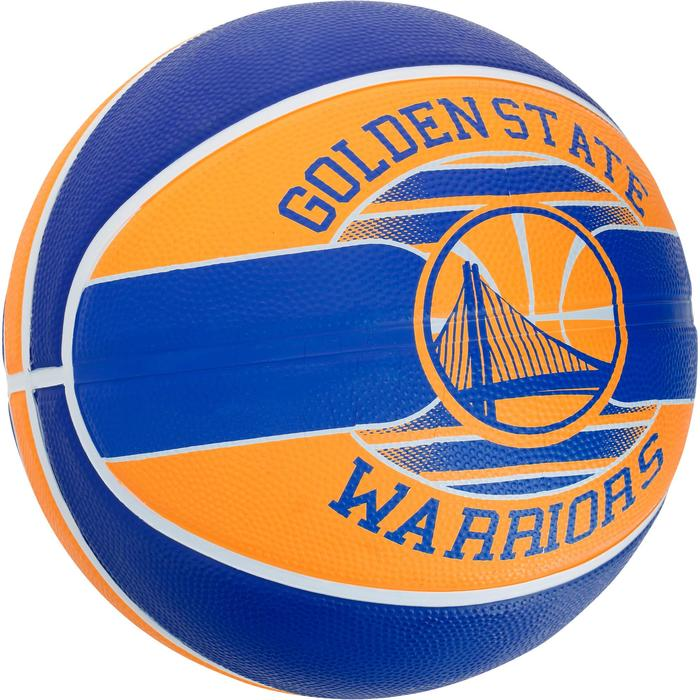 Ballon Basketball Golden State Warriors jaune bleu - 1188096