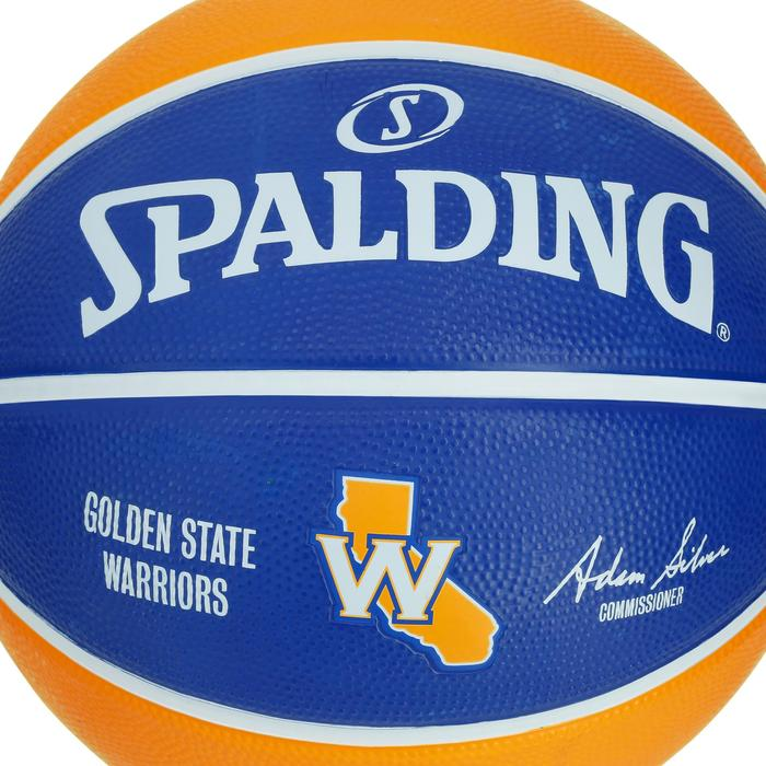 Ballon Basketball Golden State Warriors jaune bleu - 1188106